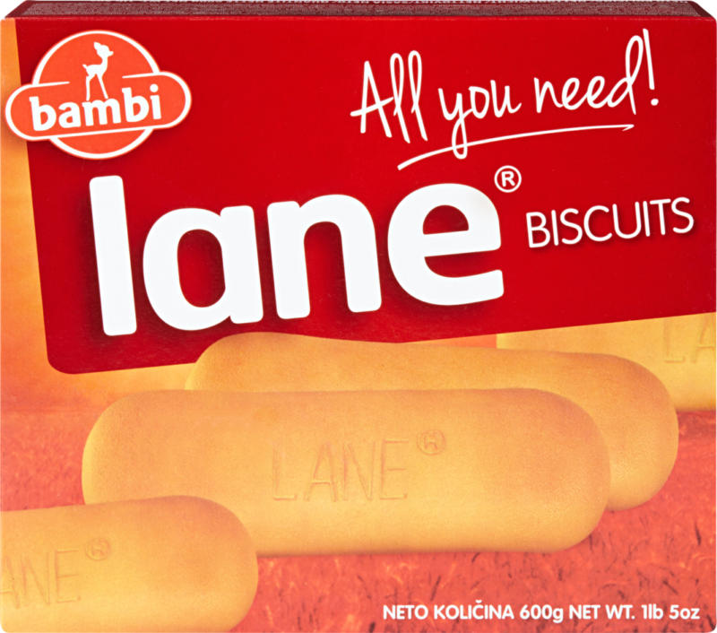 Biscotti Lane Bambi, 600 g