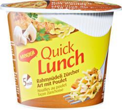Maggi Quick Lunch, Nouilles au poulet façon zurichoise, 65 g