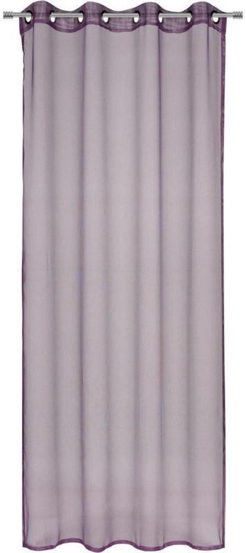 Ösenvorhang transparent