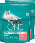 OTTO'S Purina ONE Adult Lachs&Vollkorn 2 x 600 g -