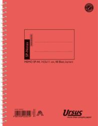 "URSUS BASIC Spiralheft 11 x 14,5 cm ""SP44"" 48 Blatt kariert"