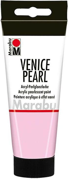 "MARABU Acryl-Perlglanzfarbe ""Venice Pearl"" 100 ml perlmutt-rosa"
