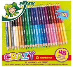 """JOLLY Buntstifte """"Supersticks Crazy"""" im Kartonetui 24 Stück mehrere Farben"""