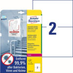 """Pagro AVERY Zweckform Antivirus Etiketten 10 Bl. """"L8002-10"""" 210 x 148 mm weiß"""