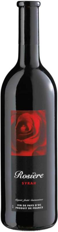 Rosière Syrah Vin rouge d'Oc IGP - 6 Stück