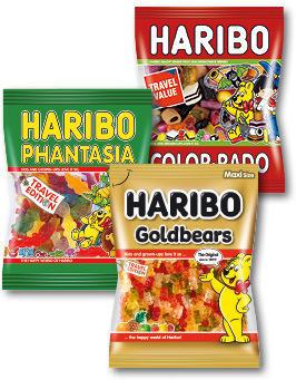 HARIBO 350-500G