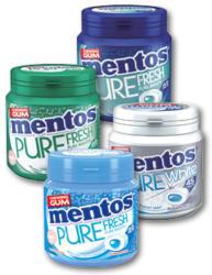 MENTOS GUMS 90G