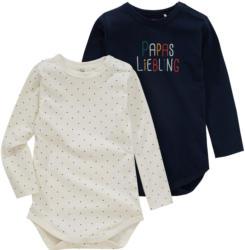 2 Baby Langarmbodys in verschiedenen Dessins (Nur online)