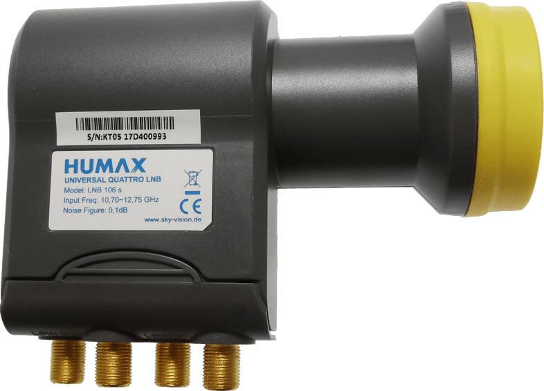 HUMAX 106-B Quattro LNB