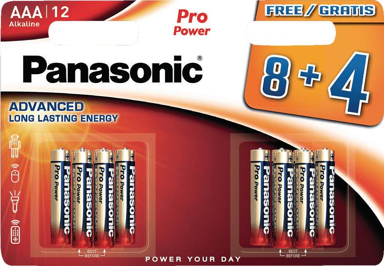 PANASONIC LR03PPG AAA Micro Batterie Alkaline