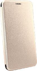 AGM 27647 Smart , Bookcover, Huawei, P Smart (2019), Obermaterial Kunstleder, Stoff, Thermoplastisches Polyurethan, Gold