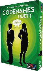 CHECH GAMES EDIT Codenames Duett Gesellschaftsspiel, Mehrfarbig