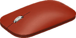 MICROSOFT Surface Mobile Mouse Maus, Mohnrot