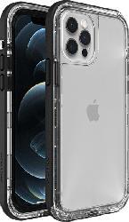 LIFEPROOF Next , Backcover, Apple, iPhone 12 / iPhone 12 Pro, Kunststoff/Thermoplastisches Polyurethan, Transparent/Schwarz
