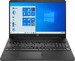 MediaMarkt HP 15s-fq0316ng, Notebook mit 15.6 Zoll Display, Celeron® N Prozessor, 8 GB RAM, 256 GB SSD, Intel® UHD Graphics 600, Schwarz