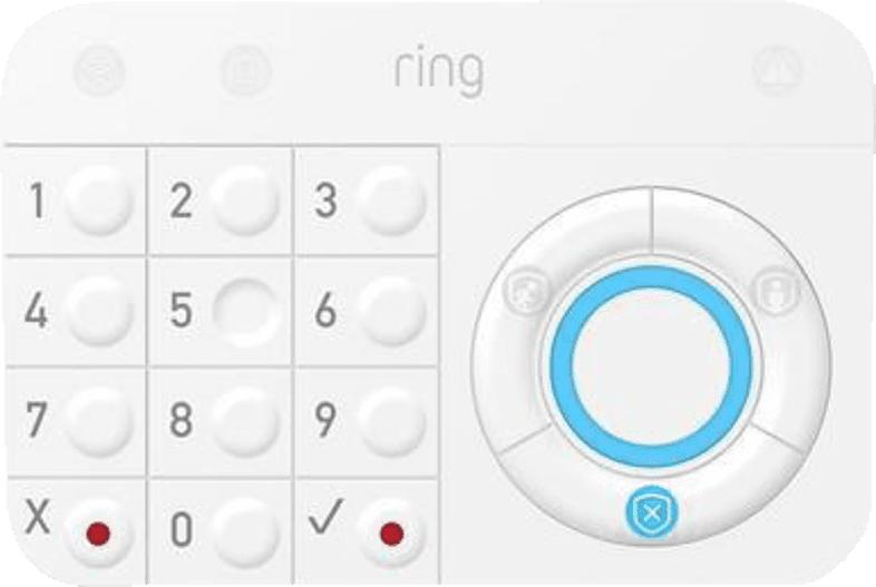 RING Alarm Tastatur, Weiß