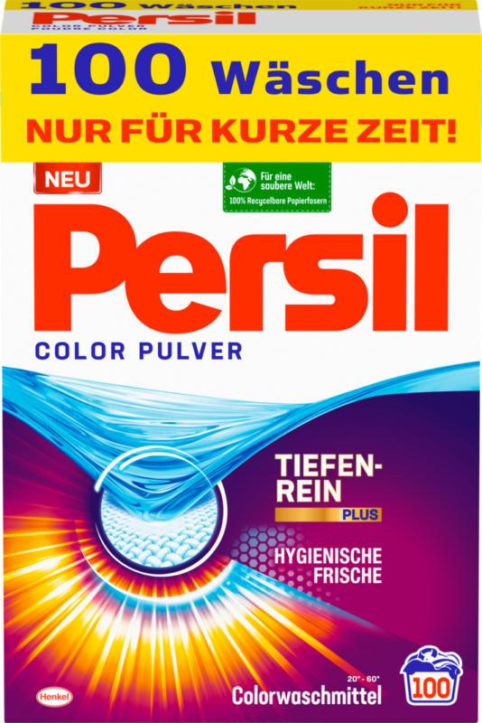 Detersivo in polvere Color Persil, 100 cicli di lavaggio, 6,5 kg