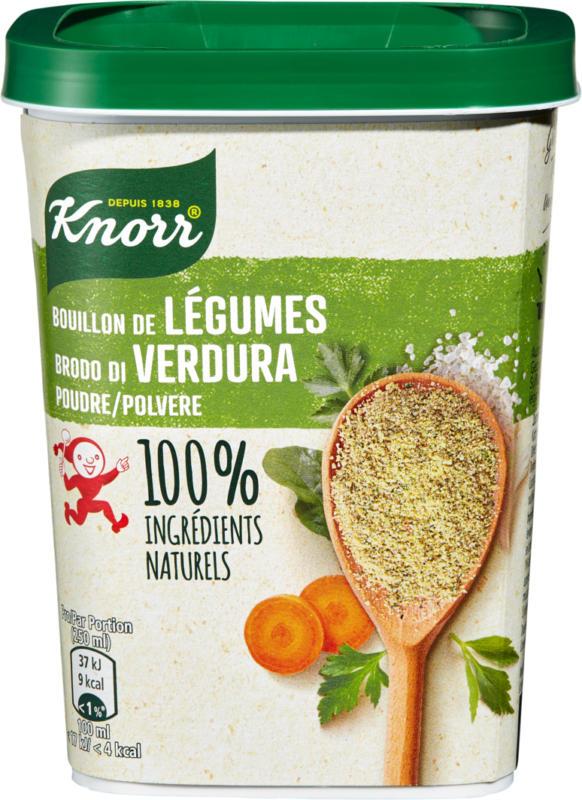 Bouillon de légumes Knorr, en granulés, au sel de mer et aux herbes, 228 g
