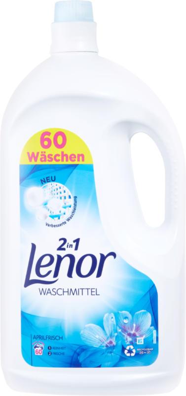 Lenor Flüssigwaschmittel 2in1 Aprilfrisch,  60 Waschgänge, 3,3 Liter