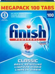 Tablettes lave-vaisselle Finish Calgonit, Classic, 100 tablettes
