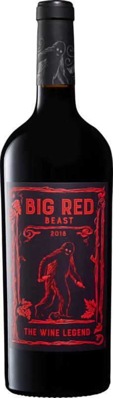 Big Red Beast Côtes Catalanes IGP, 2019, Languedoc-Roussillon, Frankreich, 75 cl