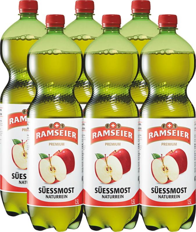 Jus de pomme Ramseier, 6 x 1,5 litre