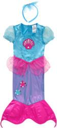 Karnevalskostüm Meerjungfrau mit Haarreifen (Nur online)