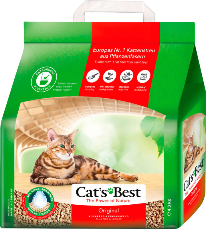 Cat's Best Katzenstreu Original (4,3 kg)