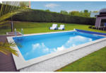 Möbelix Styroporpool Set Kwad Pool Std 8,0x4,0x1,5m