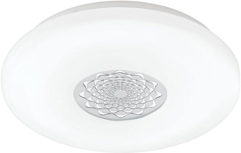 """LED-Deckenleuchte """"Capasso 1"""", mit Glitzer, Ø40cm, weiß Ø 40  cm"""