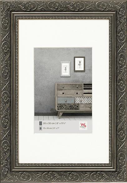 WALTHER Barock (40x50 cm, Anthrazit)