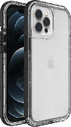 LIFEPROOF Next , Backcover, Apple, iPhone 12 Pro Max, Kunststoff/Thermoplastisches Polyurethan, Transparent/Schwarz