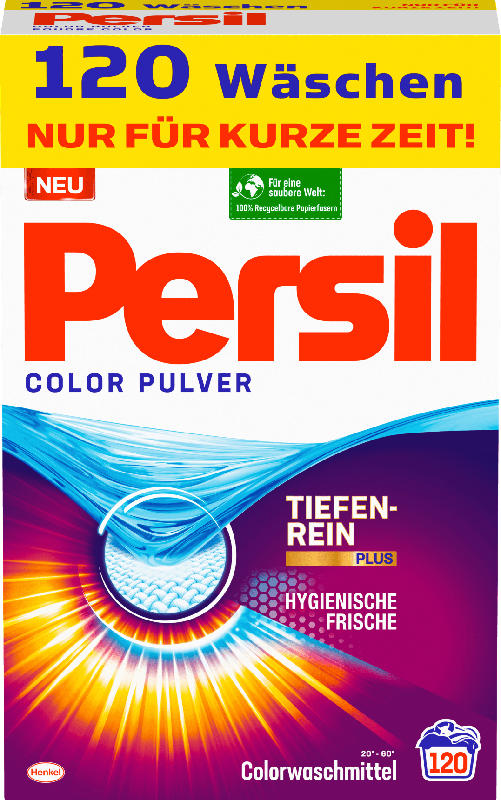 Persil Colorwaschmittel Pulver XXXL