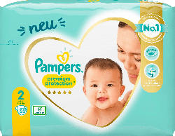 Pampers Windeln Premium Protection, New Baby Gr.2 Mini, 4-8kg, Einzelpack