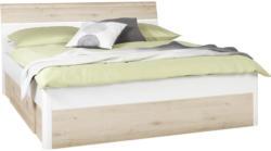 Bett in Weiß, Buchefarben