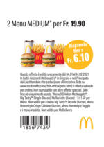 McDonald's buoni