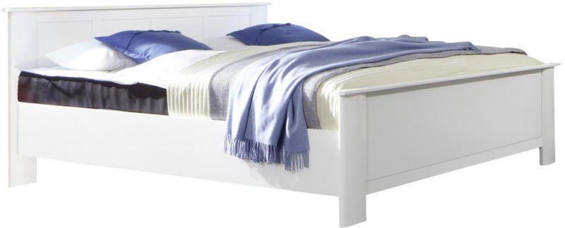Bett 160/200 cm in Weiß