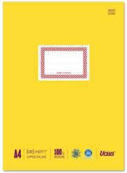 URSUS Heftschoner aus Papier A4 gelb