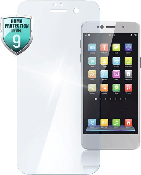 HAMA Premium Crystal Glass Schutzglas (Huawei Y6 (2018)/Honor 7A)