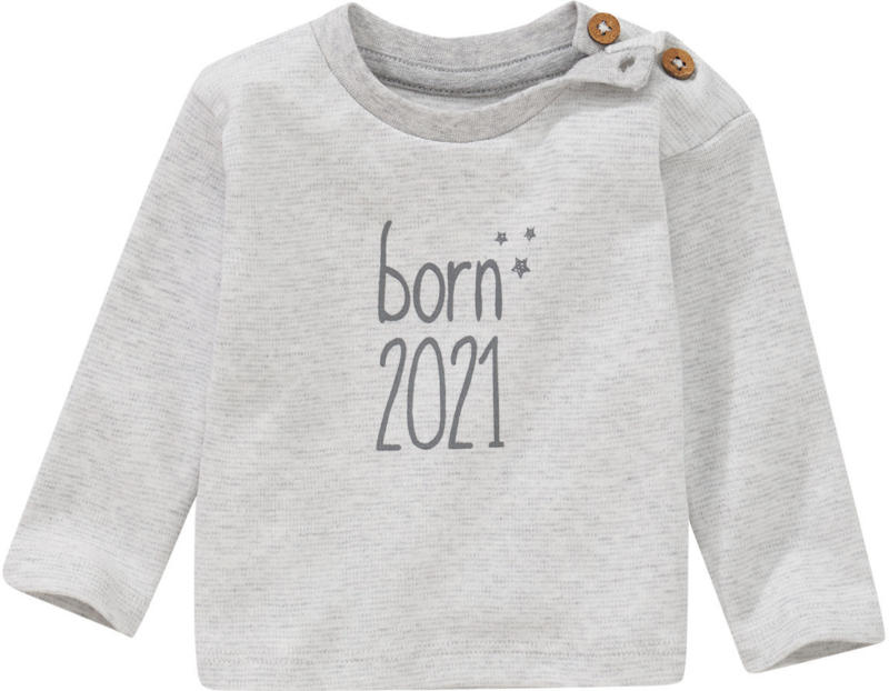 Newborn Langarmshirt Born 2021 (Nur online)