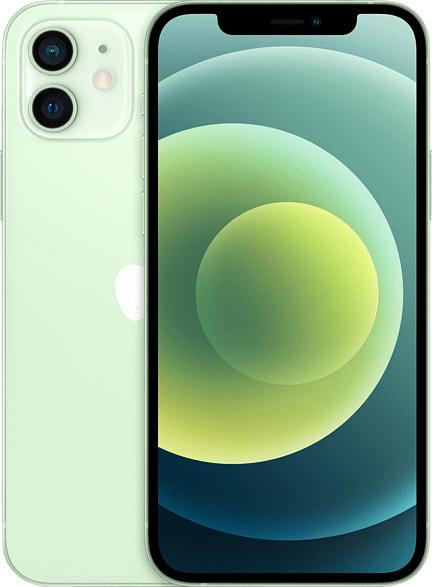 APPLE iPhone 12 5G 64 GB Grün Dual SIM