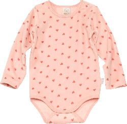 PUSBLU Baby Body, Gr. 86/92, in Bio-Baumwolle und recyceltem Polyester, rosa
