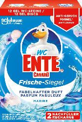 WC-Ente WC Reiniger Frische-Siegel Nachfüller Marine