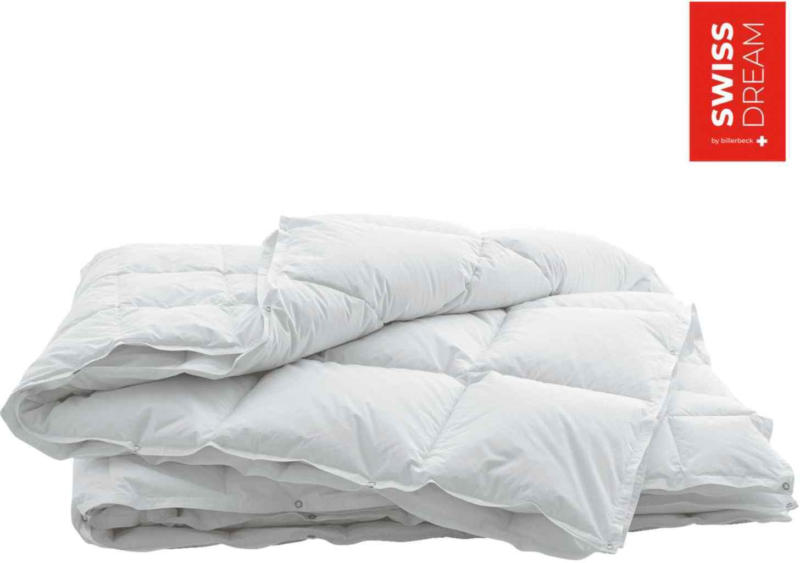 SWISS DREAM by billerbeck Duvet de Flocons de Duvet 4 saisons -
