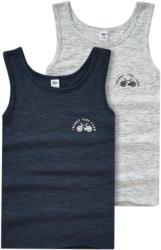 2 Jungen Unterhemden in Melange-Optik (Nur online)
