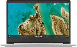 LENOVO IdeaPad 3 Chromebook, Chromebook mit 14 Zoll Display, Celeron® Prozessor, 4 GB RAM, 64 GB eMMC, Intel UHD Grafik 600, Platinsilber