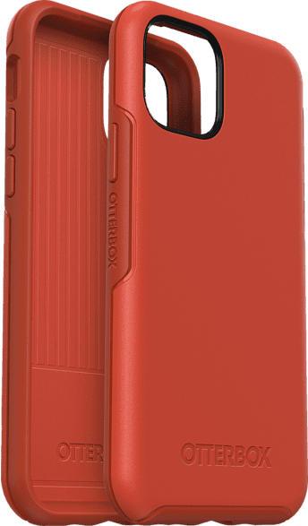 OTTERBOX Symmetry , Backcover, Apple, iPhone 11 Pro, Polycarbonat/Kautschuk, Orange