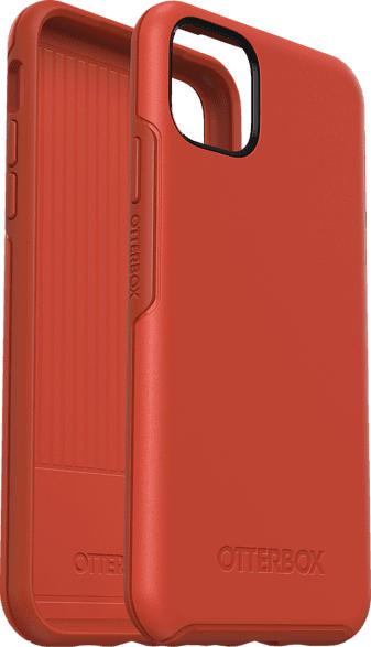 OTTERBOX Symmetry , Backcover, Apple, iPhone 11 Pro Max, Polycarbonat/Kautschuk, Orange