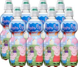 Peppa Pig Fruchtsaftgetränk für Kinder, Erdbeere & Aprikose, 8 x 35 cl