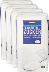 Sucre fin cristallisé Denner , 4 x 1 kg